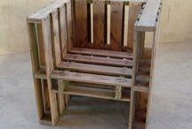 Poltrona legno