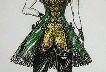 Green Lady - female Singer