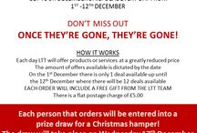 December Daily Deals / Grab a bargain in our 12 days of Christmas give away