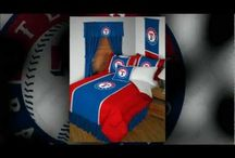 Texas Rangers Merchandise, Bedding, Decor & Gifts / Texas Rangers Merchandise & Bedding is an awesome way to decorate your home & office to create your own Rangers fan zone in your bedroom, kid's bedroom, game room, study, kitchen, living room, and even the bathroom. Also wonderful as Texas Rangers fan gifts. Show off your Rangers team spirit today!