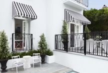 Exteriors / I think I may have a thing for white houses with black accents.....