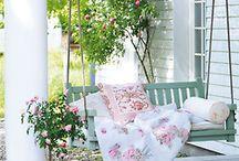 Outdoor living / #outdoors, #home, #yard, #garden, #decor