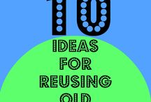 Reuse Not Refuse / We strongly believe in keeping anything we can out of landfills.  Here are a few fun, creative, and exciting ways you can reuse items at home or work.  Lots of neat repurposing and projects ranging from super easy to large scale.  Every little step can help to make a big change.