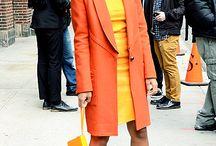Żółty&pomarańcz