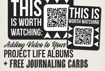 Documented Life Project / Ideas for my documented life art journal / by Katie Howard Clemens