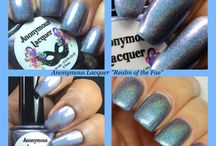 September 2016 - Anonymous Lacquer and CrowsToes Nail Polish