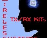 Trasmettitori & Ricevitori Audio/Video / I Sistemi di Trasmissione e Ricezione di Segnali Audio e Video sono elementi fondamentali del Controllo Remoto e della Vigilanza Elettronica. Un trasmettitore (TX) è un dispositivo elettronico in grado di trasmettere un segnale a distanza, mediante l'emissione di onde elettromagnetiche, ultrasuoni o infrarossi. Un ricevitore (RX) è un dispositivo elettronico in grado di captare il segnale del trasmettitore e demodularlo permettendone la codifica.