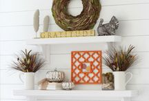Mantels and Shelfs