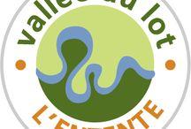 Entente Vallée du Lot / L'entente vallée du Lot est une organisation chargée de l'aménagement et du développement de la Vallée du Lot en matière hydraulique, mais aussi dans le domaine touristique, économique et environnemental.   #ValléeduLot #EntenteValléeduLot #Lozère #HôtelLes2Rives