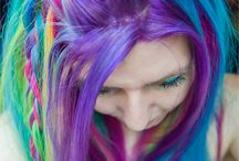 Hair Colourful