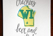 there's no place like home. / all about wisconsin.