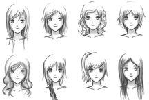 Animes cabelos