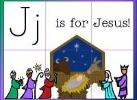 Letter Jj is for Jesus, and... / This board contains printable pages and activities as well as books for learning the letter J, specifically highlighting the letter J is for Jesus and thus this is a great unit for the Christmas and Advent season. However, some nonseasonal activities may also be pinned here.