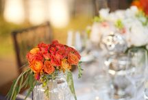 anniversary centerpieces / by Tricia Brown Turk