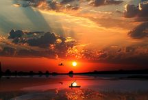 sunset / by Effie Abrahamsen