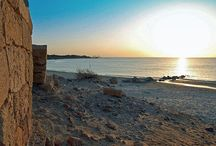 Israel's Beaches / The combination of white sand, rocky coastline, and crystal clear blue water make the Beaches in Israel some of the best in the Mediterranean.