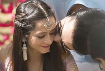 Sangeet Hairstyle for Indian Wedding