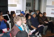 Friends of the Canal Museum and Trail Lectures (February 2014) / The Friends of the Roanoke Canal Museum and Trail Lecture Series featuring Michelle Lanier, Director of the North Carolina African American Heritage Commission. Lanier, an oral historian and folklorist, spoke of the efforts of enslaved persons in Halifax County and throughout North Carolina to obtain freedom.