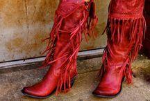 Stivali con frange