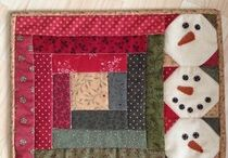 Karácsony - patchwork