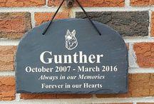 Outdoor and Garden Pet Memorials