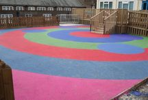 Playground Flooring / We are a nationwide playground flooring installer!