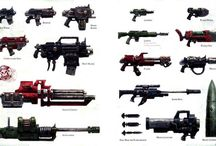 40k weapons