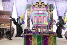 Mardi Gras Bourbon Street Party Ideas / Party down on Bourbon Street with Mardi Gras Party theme kits! / by Shindigz