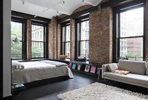 Industrial bedroom