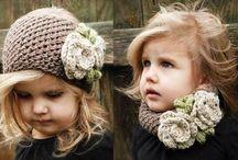 Bebek şapka atkı