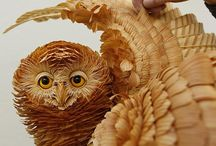 wood chip art / by Nancy Nieman