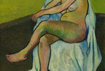 Suzanne valadon / French painter , artists' model / female nudes / female portraits / still lifes / landscapes /