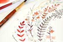 Kresby a malby