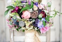 Colourfull bouquets