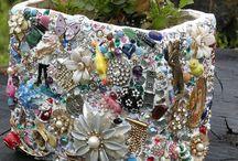 Bloembak mosaik