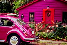 Cool Houses / Nice Houses, Tree Houses, Unusual Houses, Colourful Houses and more....... / by Trish Mene