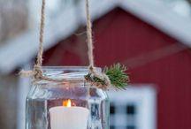 Scandinavian Christmas - рождественские декоры в скандинавском стиле