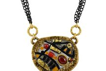 Michal Golan / Gorgeous Israeli inspired jewelry, featuring Swarovski Crystals and semi-precious stones. Make sure not to miss the Evil Eye jewelry!