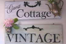 Cottage Decor ✿#ColettesCottage / I dream of a country cottage with lavender growing all around and welcoming visitors!