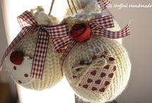 palle di Natale con maglie