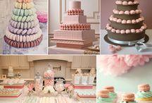 wedding / cake design / Anche l'occhio vuole la sua parte - meravigliose torte e dessert per il giorno perfetto. ---- Also the eye wants its part - wonderful cakes and desserts for the perfect day.