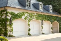 garage doors / by White Bungalow