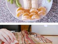 dekoracje z jedzenia
