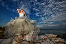 Cancun Destination Wedding. Trash the Dress Photo / Jennifer and Dane had the best experience on their lives !!
