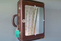 Recycle: suitcase