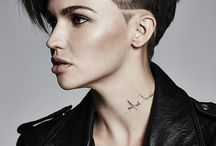Side cut short hairstyles