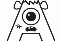 Monster Alphabet Worksheets
