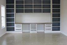Basement tool/storage
