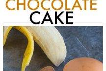 Flourless chocolate cakes