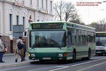Bonn - Busse MAN NL 202 / 222 / 232-CNG (Baujahr 1992 - 1996) / Sie sehen hier eine Auswahl meiner Fotos, mehr davon finden Sie auf meiner Internetseite www.europa-fotografiert.de.